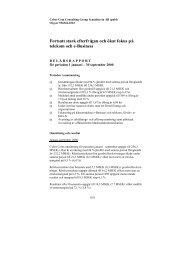 Fortsatt stark efterfrågan och ökat fokus på telekom och e ... - Euroland