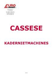 Klik hier voor de folder van Cassese - Eurolijsten