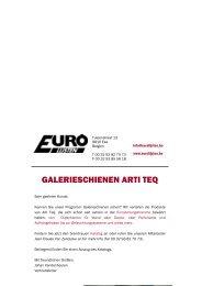 GALERIESCHIENEN ARTI TEQ - Eurolijsten