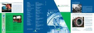 Brief History - Ansaldo Sistemi Industriali