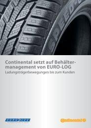 Continental setzt auf Behälter- management von EURO-LOG