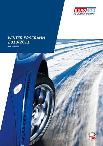 Eurolub Winter-Programm 2010/2011