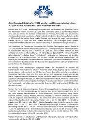 Jetzt EuroMed-Botschafter 2012 werden und Reisegutscheine bis ...