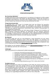 EuroMed Unternehmensprofil