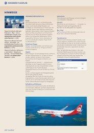 können Sie sich den Sommer-Flugplan 2013 - Euromed Kurreisen