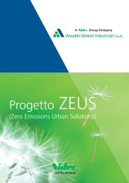 Progetto ZEUS - Ansaldo Sistemi Industriali