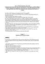 Decree #918 automatically enforceable - Euromed Audiovisuel