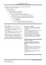 ALGERIA / ALGÉRIE Ordonnance n° 03-05 du 19 juillet 2003 ...
