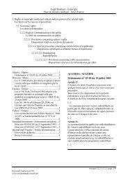 ALGERIA / ALGÉRIE Ordonnance n° 03-05 du 19 juillet 2003