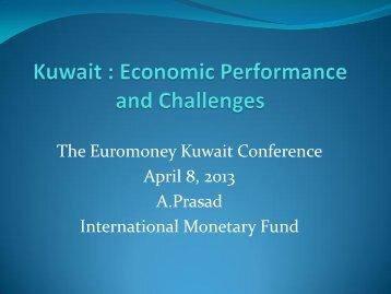 Ananthakrishnan Prasad - Euromoney Conferences
