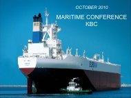 KBC Maritime Seminar London - Euronav.com