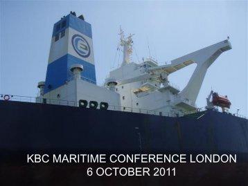 KBC MARITIME CONFERENCE LONDON 6 ... - Euronav.com