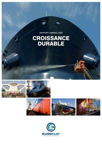 CROIssANCE dURAbLE - Euronav.com