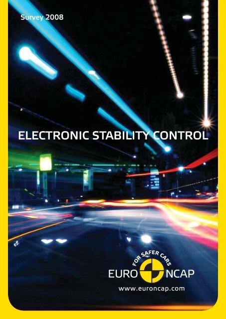 Euro NCAP ESC survey - brochure
