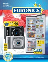 10 / 2011 JUULI 2011 - Euronics