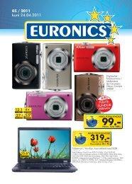 05 / 2011 kuni 24.04.2011 - Euronics