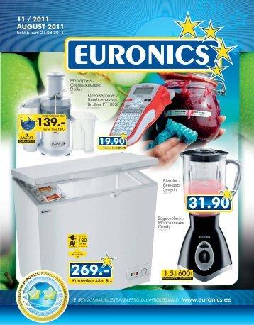 11 / 2011 AUGUST 2011 - Euronics