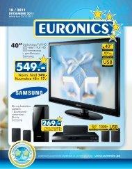 18 / 2011 Norm. hind 749.- - Euronics