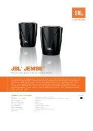 605.83KB PDF - JBL.com