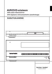 AVR/DVD-süsteem - Euronics