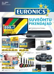 SUVEÕHTU - Euronics