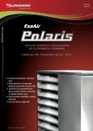 ExoAir Polaris - Tepelná čerpadla EURONOM