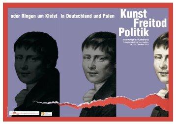 Politik Kunst Freitod