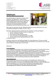 Anmeldung per Email oder per Fax - ASID Management für ...