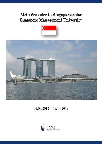 Mein Semester in Singapur an der Singapore Management University