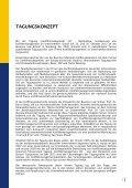 TAGUNGSBERICHT KONFLIKTMANAGEMENT (IV ... - Page 3