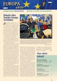 Ausgabe 2-2013 - Europa-Union Deutschland e.V.