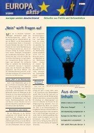Ausgabe 3-2005 - Europa-Union Deutschland e.V.