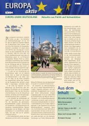 Ausgabe 5-2004 - Europa-Union Deutschland e.V.