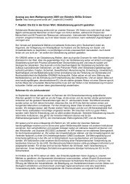 Auszug aus dem Wahlprogramm 2005 von Bündnis 90/Die Grünen ...