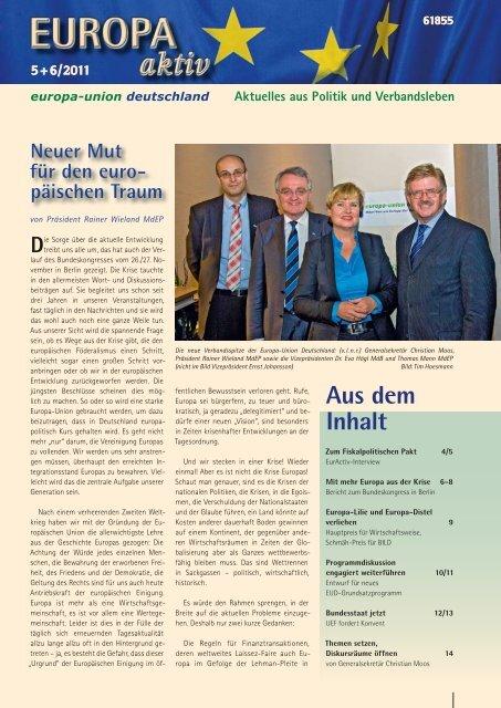 Ausgabe 5/6 - Europa-Union Deutschland e.V.