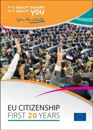 EU CITIZENSHIP FIRST 20 YEARS
