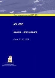 CBC IPA 2007-2013 Serbia – Montenegro pdf