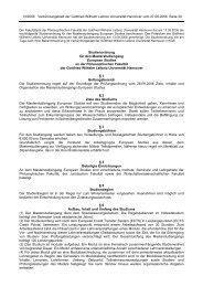 Studienordnung vom 17.05.2006 - European Studies - Leibniz ...