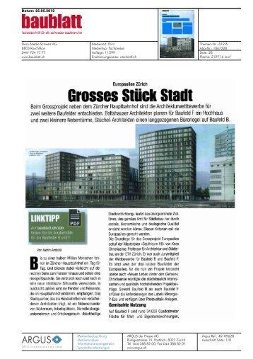Baublatt von 25.05.2012, 1742 KB - Europaallee