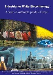 Industrial biotechnology - Bio-Economy