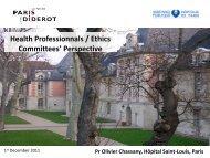 Link to presentation - Europabio