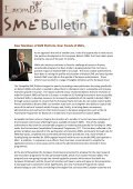 To continue reading the EuropaBio SME Newsletter Issue 4 - Page 2