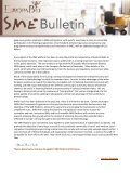 To continue reading the EuropaBio SME Newsletter Issue 4 - Page 3