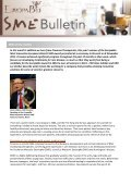 To continue reading the EuropaBio SME Newsletter Issue 4 - Page 4