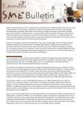 To continue reading the EuropaBio SME Newsletter Issue 4 - Page 5