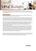 To continue reading the EuropaBio SME Newsletter Issue 4 - Page 6