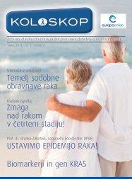 Biomarkerji in gen KRAS USTAVIMO EPIDEMIJO ... - EuropaColon