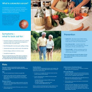 What is colorectal cancer? - EuropaColon