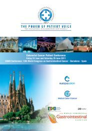 Colorectal Cancer Patient Conference - EuropaColon