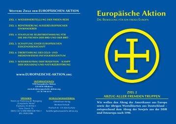Flugblatt Ziel 2 - Liechtensteiner Version Abzug aller fremden Truppen